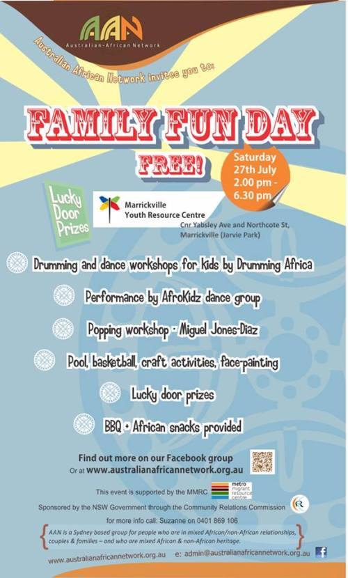 Family Fun Day July 2013